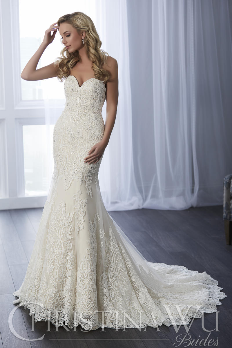 Christina Wu Bridal 15642