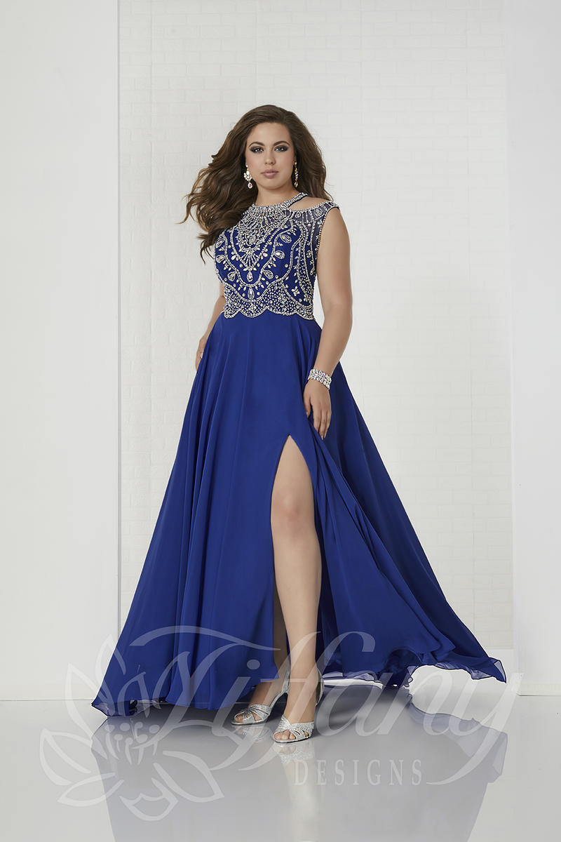 Plus Size Prom Dresses at Party Dress Express Tiffany Designs 16313 ...