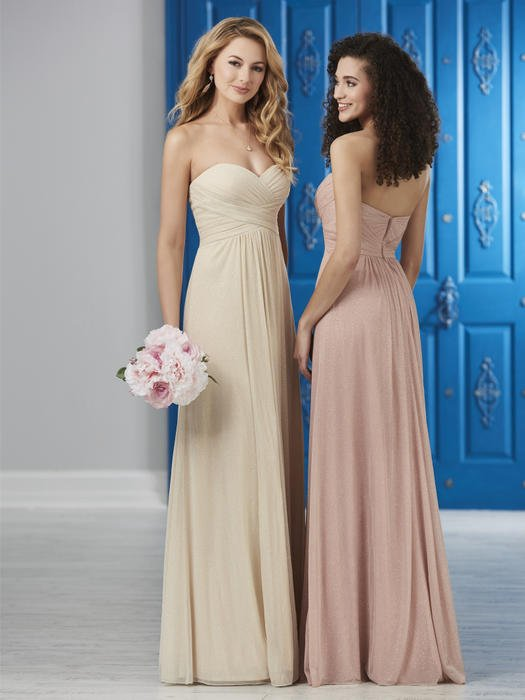House of Wu - Strapless Sweetheart Chiffon Bridesmaid Gown
