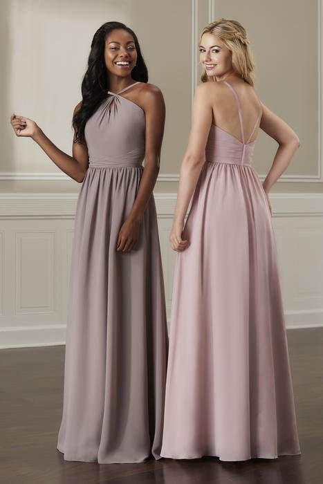 House of Wu - Halter Keyhole Bridesmaid Gown