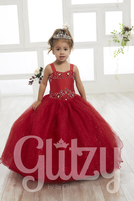 Glitzy Little Girl Dress