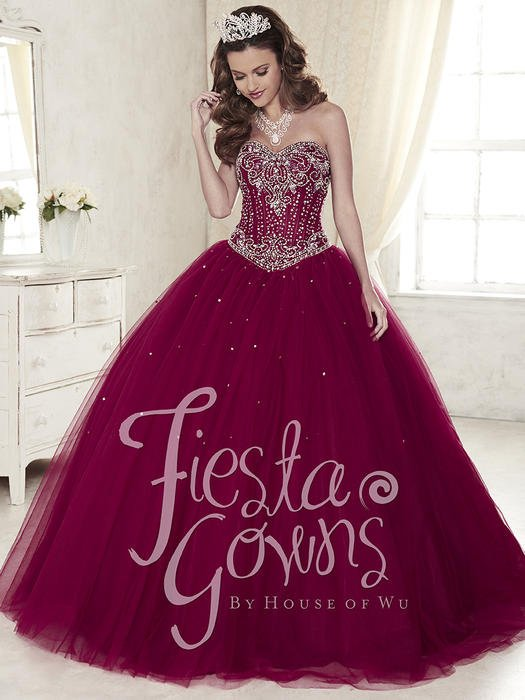 5ab7b9d6078 Fiesta Quinceanera Ball Gowns