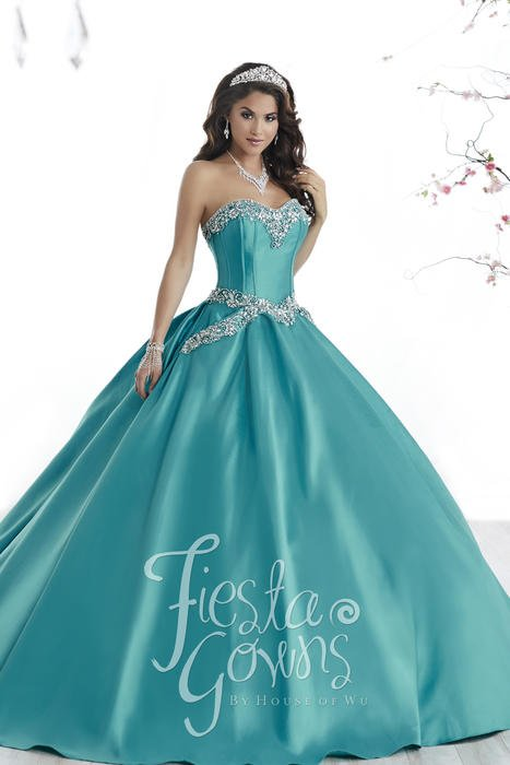 Fiesta Quinceanera Dress