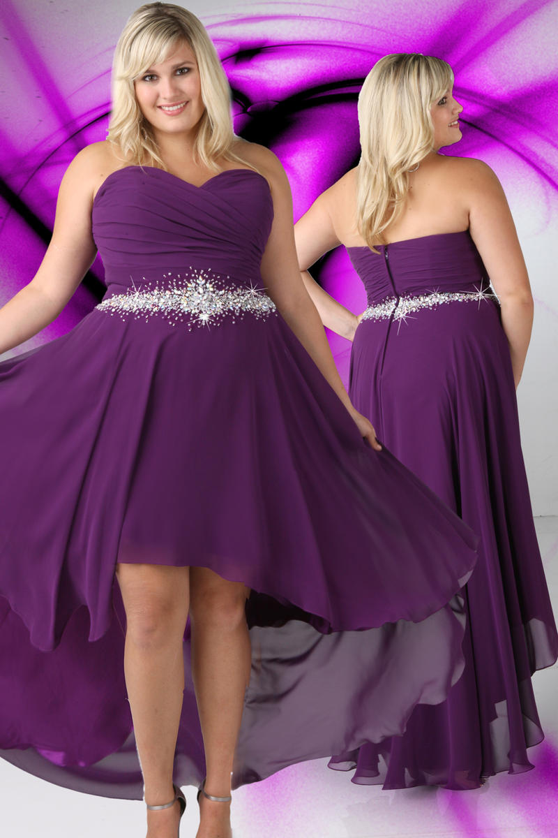 Xcite Plus Size Prom by Impression 35061 Xcite Plus Size Prom Unique ...
