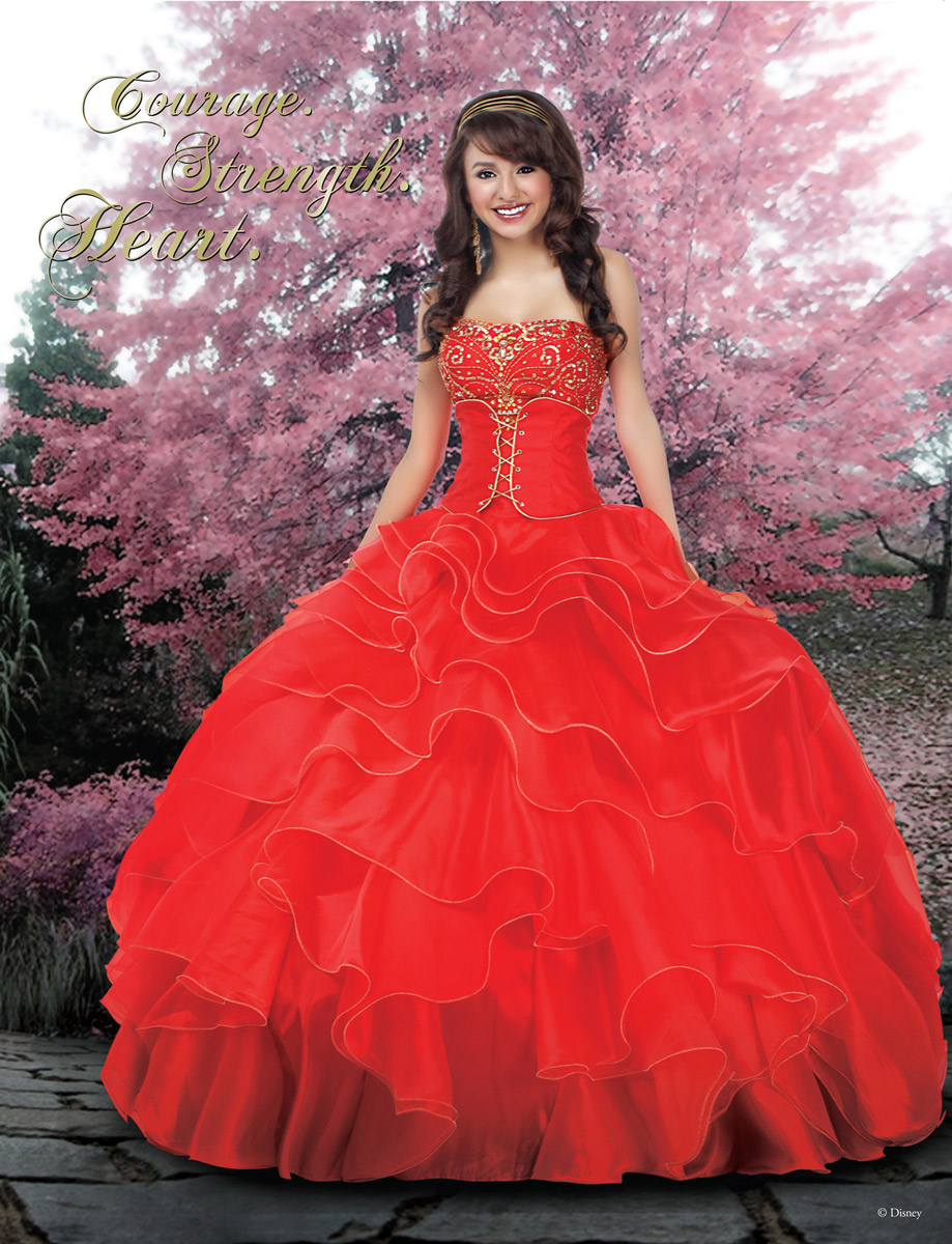 Disney Royal Ball Quinceanera Disney Royal Ball 41005 Q Look Bridal ...