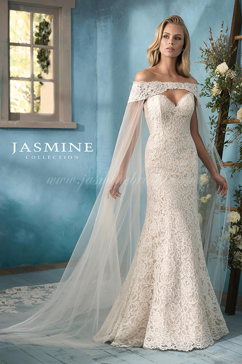 c0e0614e61efd Jasmine Collection F191058 Blossoms Bridal & Formal Dress Store