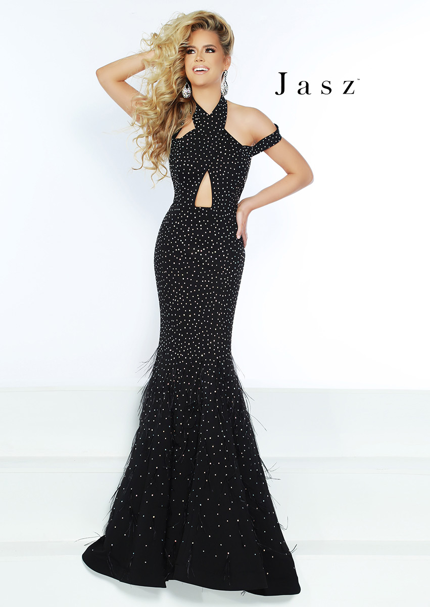75fc393f186 Jasz Couture 6440 Chic Boutique  Largest Selection of Prom