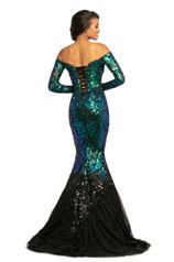 2062 Mermaid/Blk back