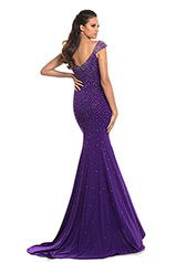 9041 Purple back