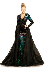 9239 Mermaid/Black front
