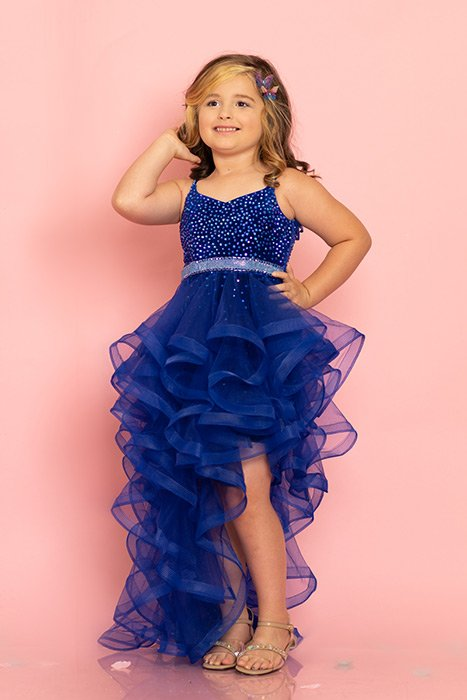 Sugar Kayne Girls High Low Fun Fashion or Runway Party Dress