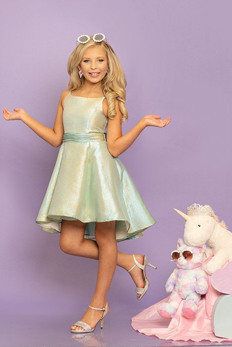 Sugar Kayne Little Girls Cocktail Party Dress