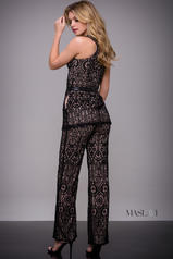 M621 Black/Nude back