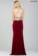 33493 Burgundy/Gold back