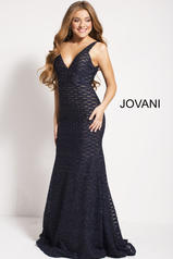59631 Navy/Nude front