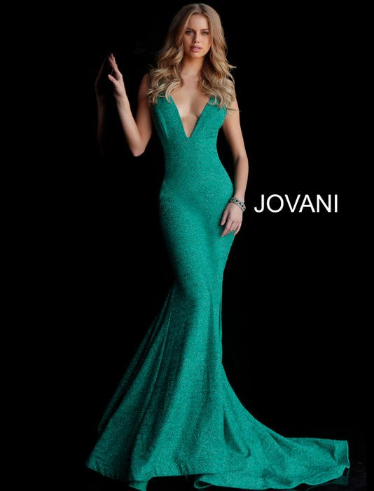 Earth Green Long Prom Dress