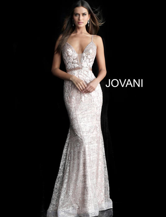 Jovani - Embroidered Gown