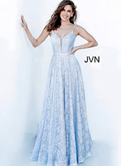 JVN03111 Light Blue front