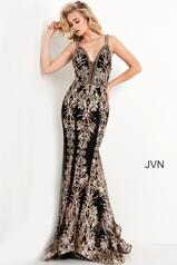 JVN04789 Black/Gold front