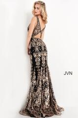 JVN04789 Black/Gold back
