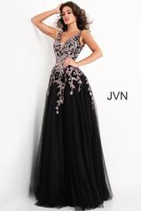 JVN2302 Black/Rose front