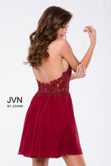 JVN47314 Burgundy back