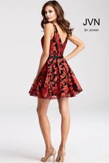JVN53382 Black/Red back