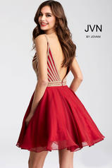 JVN53392 Burgundy back
