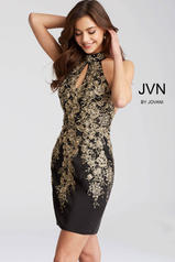 JVN54515 Black/Gold front
