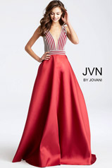 JVN54705 Red/Silver front