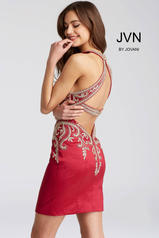 JVN55146 Burgundy back