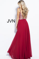JVN60206 Burgundy back