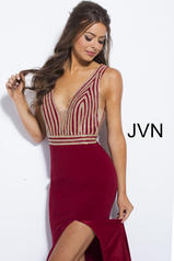 JVN51867 Burgundy detail