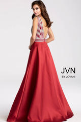 JVN54705 Red/Silver back
