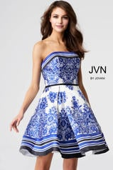 JVN56018 Ivory/Royal front