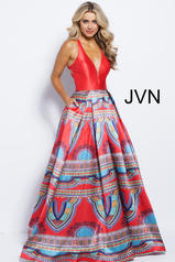 JVN58590 Red/Multi front