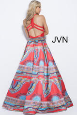 JVN58590 Red/Multi back