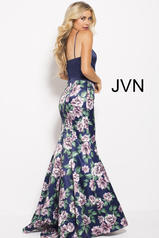 JVN59138 Navy/Multi back