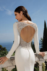 88076 Ivory/Silver/Nude back