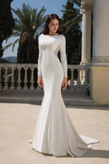 88076 Ivory/Silver/Nude front