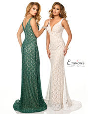 E1058 Emerald/Nude  N back