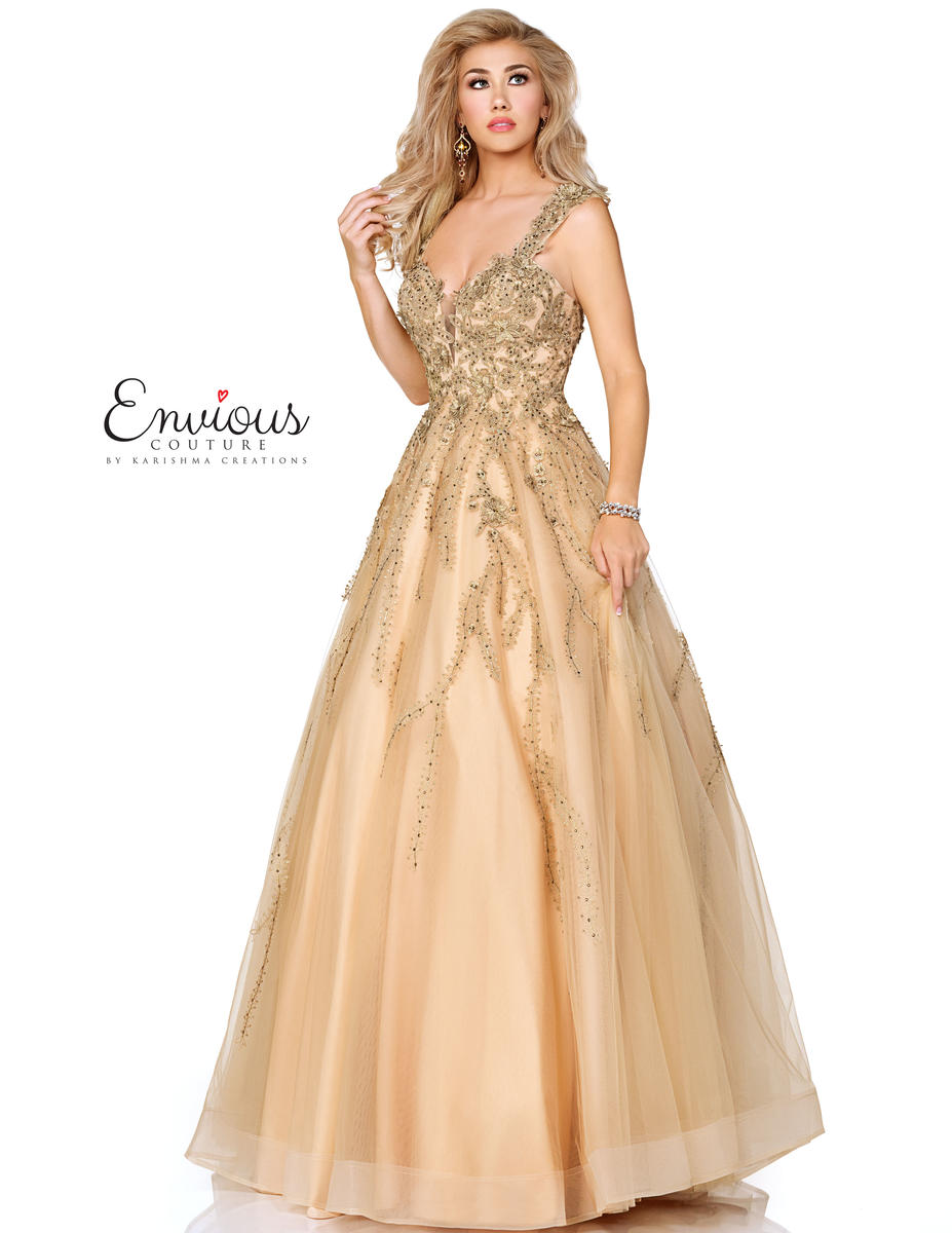 Envious Couture Prom by Karishma E1046