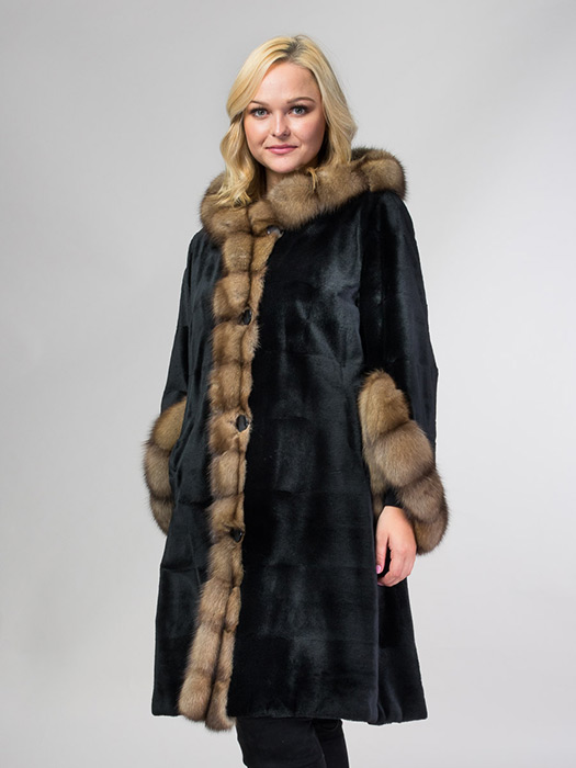 Mink & Sable Reversible Coat