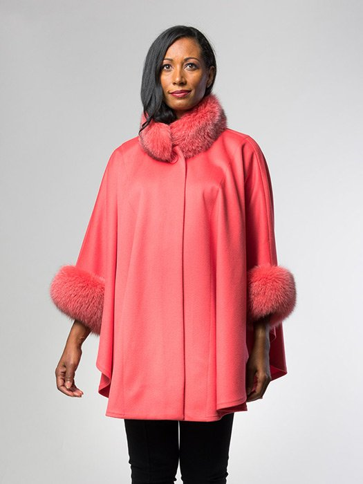 Cape With Fox Collar
