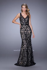 21491 Black/Nude front