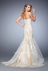 22167 White/Nude back
