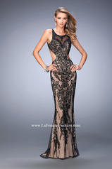 22640 Black/Nude front