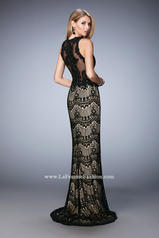 22933 Black/Nude back