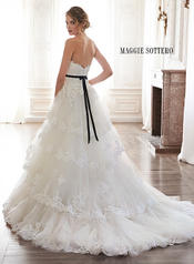 Bettina by Maggie Sottero Ivory back