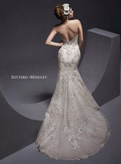 Maddalena by Sottero and Midgley Ivory/Light Gold Accent back